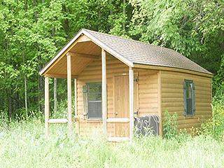 1 Room Cabin fix-up animal farm in lake country | b.k. haynes
